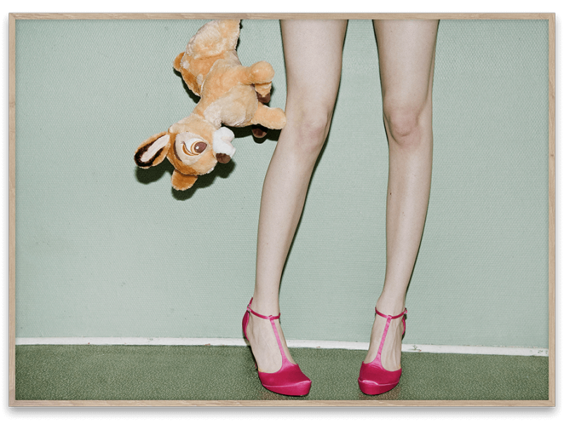 "Photo ""Bambi & Heels"" 70x50 - PAPER COLLECTIVE"