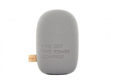 Batterie portable ToCHARGE gris foncé - KREAFUNK