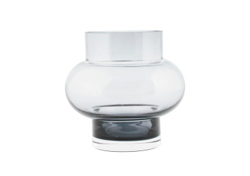 Vase Formes gris transparent - HOUSE DOCTOR
