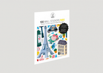 Planches de Stickers Paris - OMY