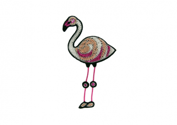 "Broche "" flamant rose "" - MACON & LESQUOY"