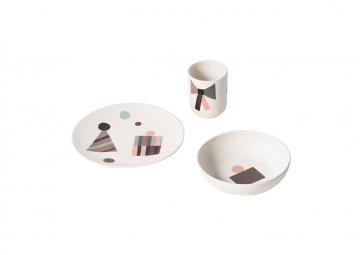 Set de vaisselle Pary bambou - FERM LIVING