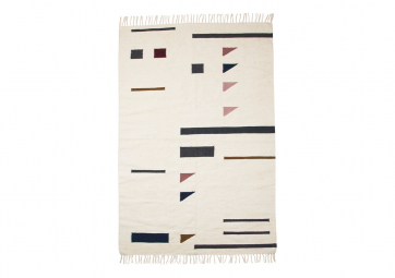 Tapis Kilim triangle large - FERM LIVING