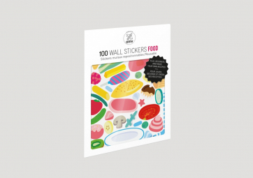 Planches de Stickers Food - OMY