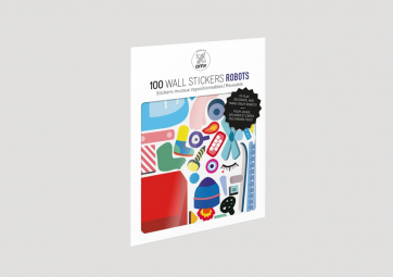Planches de Stickers Robots - OMY