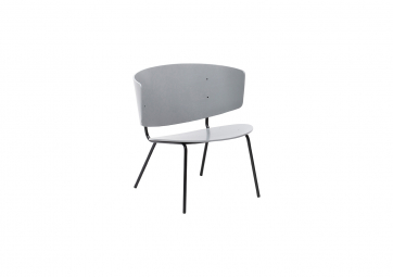 Chaise Herman Lounge grise - FERM LIVING