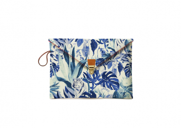 "Housse Macbook 13"" Tropical - MAISON BALUCHON"