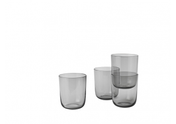 Lot de 4 verres Corky gris high - MUUTO