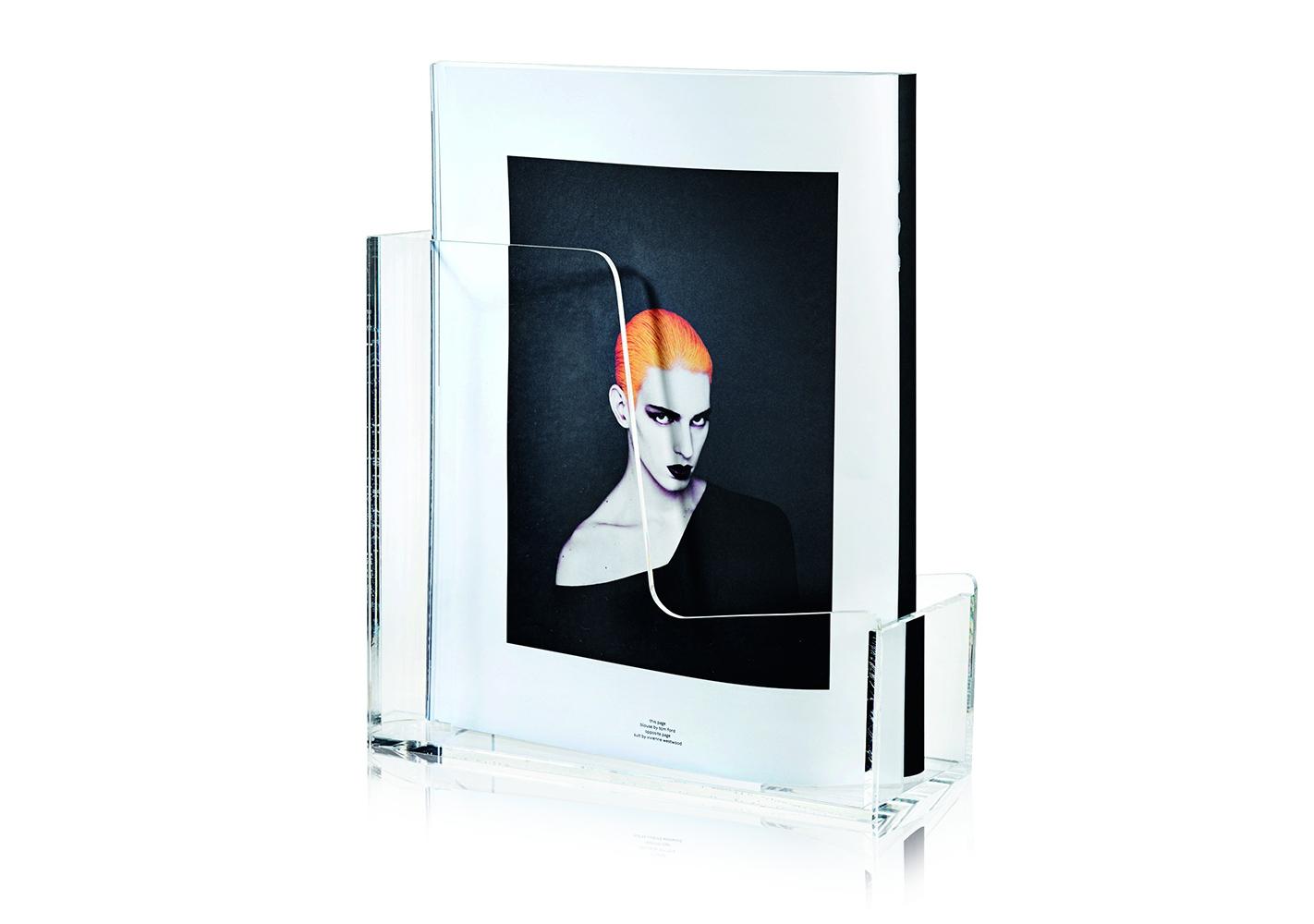 Porte magazine transparent - NOMESS
