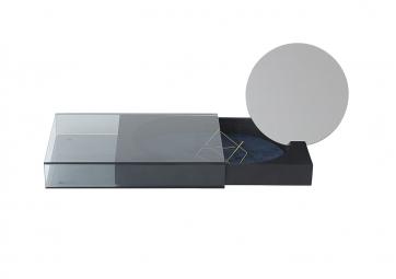 Boite Matchbox large avec miroir - NOMESS
