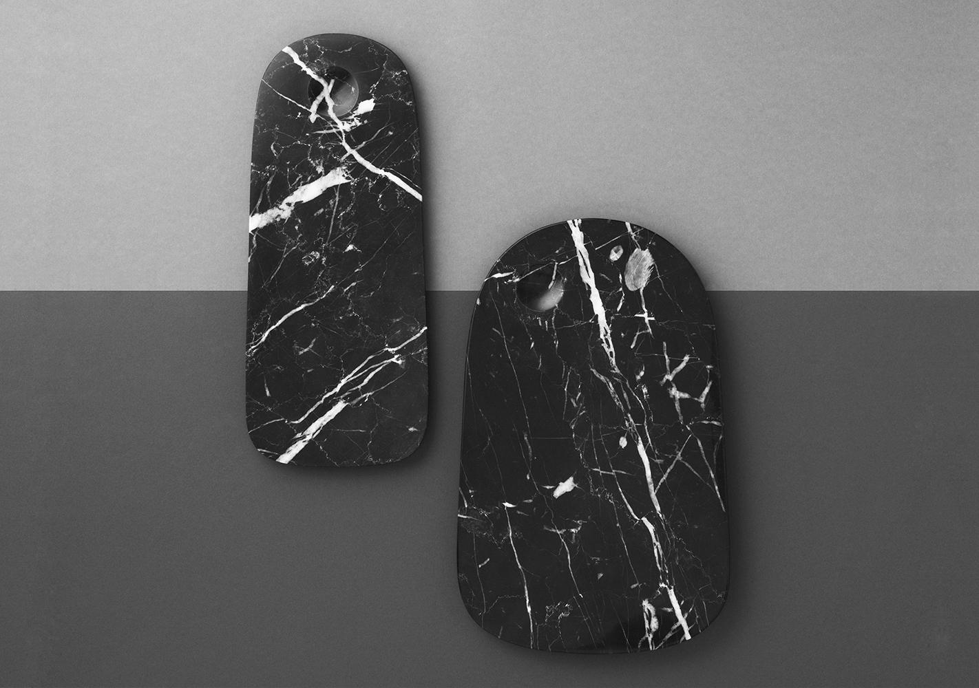 Planche à découper marbre noir - NORMANN COPENHAGEN