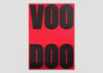 Poster Woodoo - PLAYTYPE