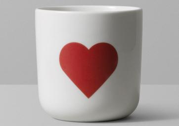 """Mug """"COEUR"""" - PLAYTYPE"""