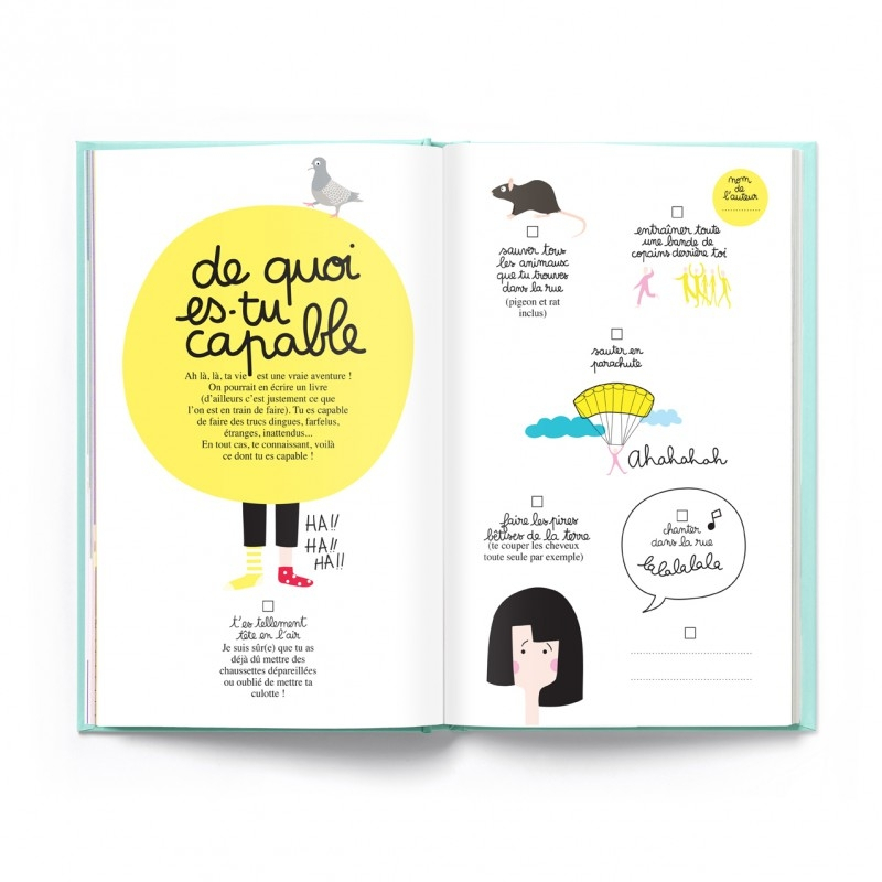 "Livre "" La fabuleuse et rocambolesque histoire de ta vie"" - MINUS EDITIONS"