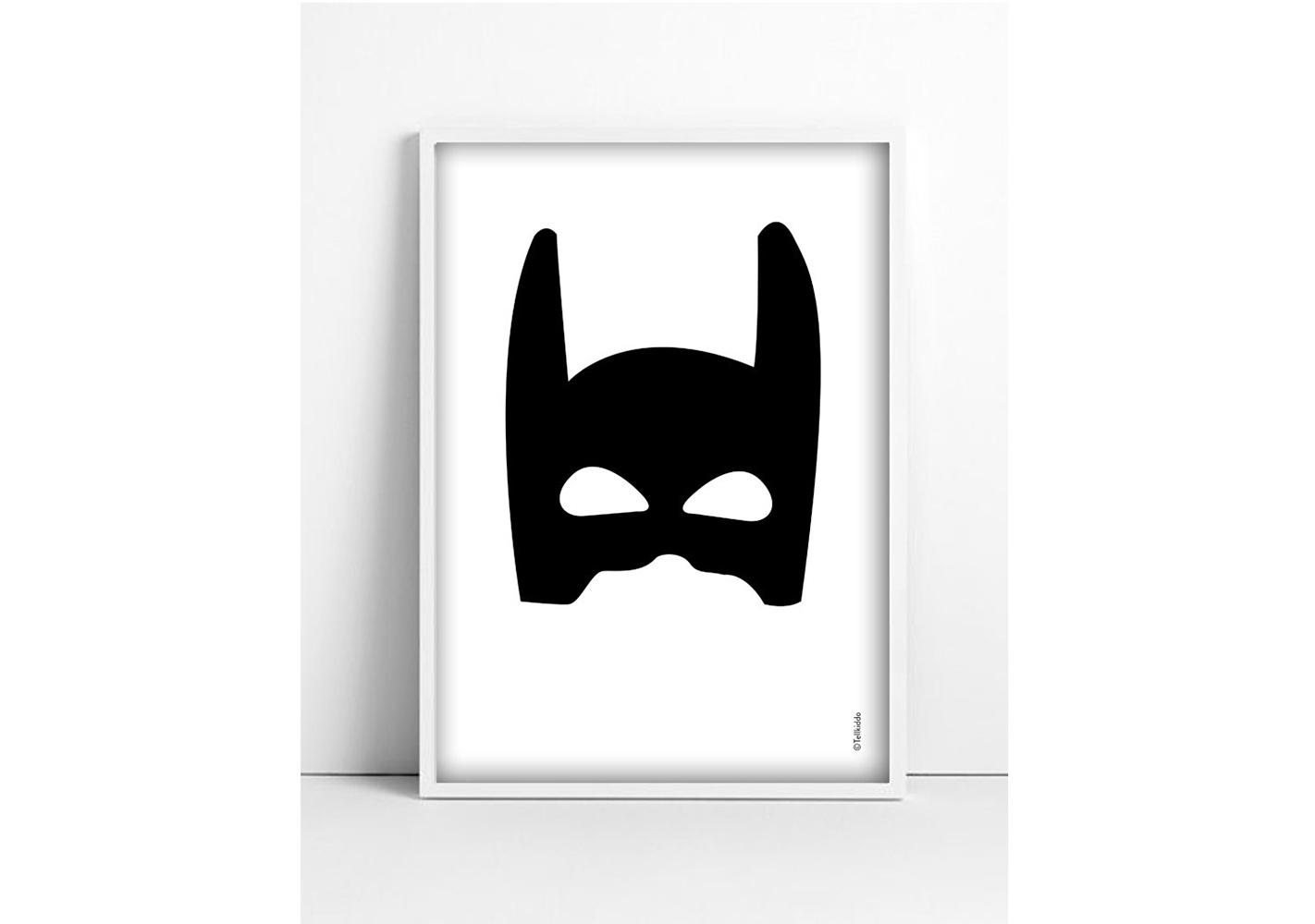 Affiche A3 Superhero  - TELLKIDDO