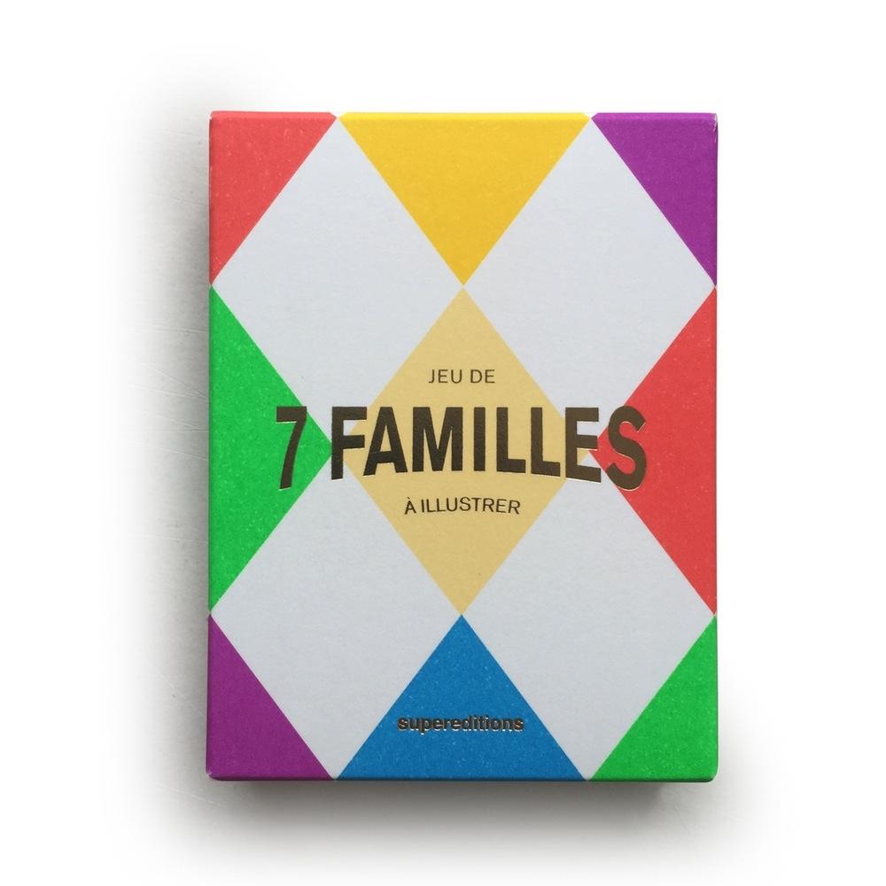 Jeu de 7 familles - SUPEREDITIONS