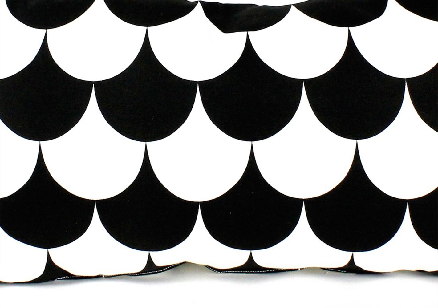 Coussin Averell - 24x52 - black scales - NOBODINOZ