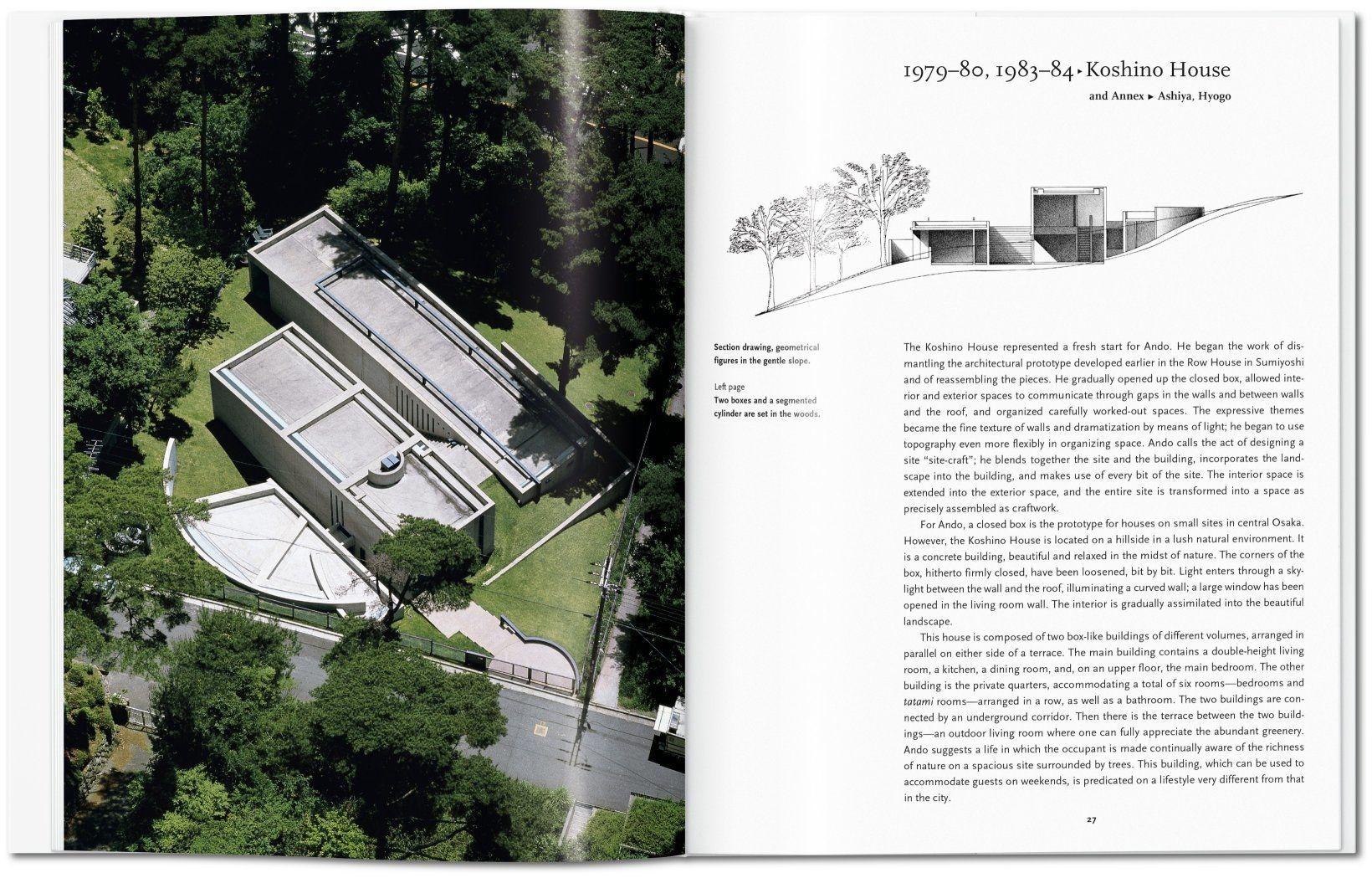 Livre Tadao Ando - TASCHEN