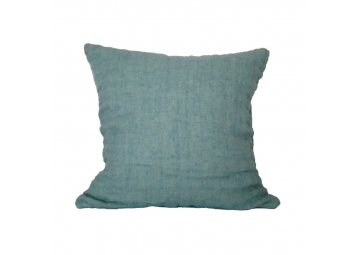 Housse de coussin Lina coloris Morning mist A - MY WAY CREATION