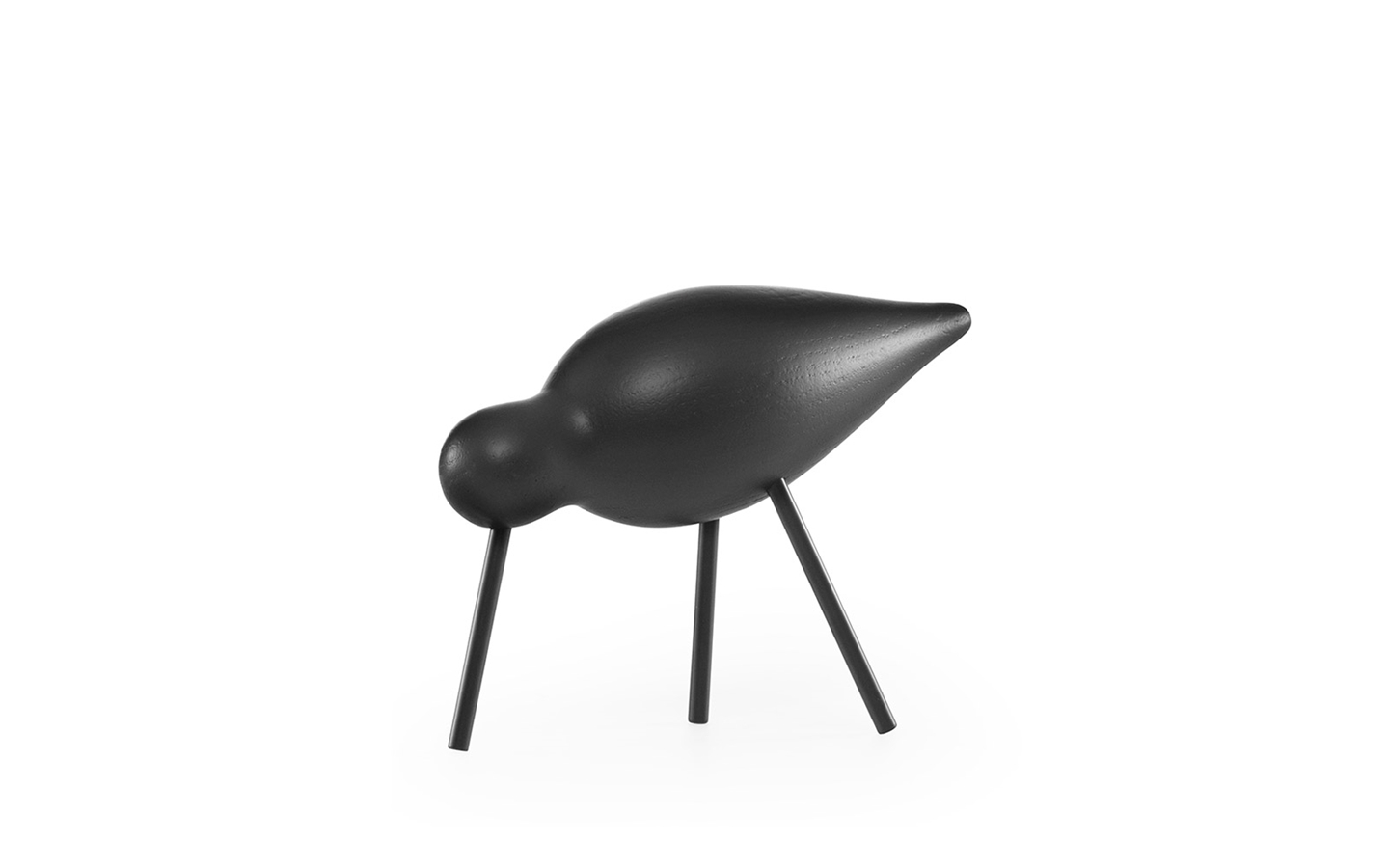 Shorebird medium bois / noir- NORMANN COPENHAGEN