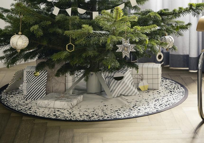 Tapis de sapin de Noël Etoile - FERM LIVING