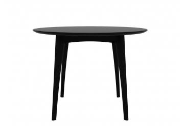 Table haute Osso en chene noire - ETHNICRAFT
