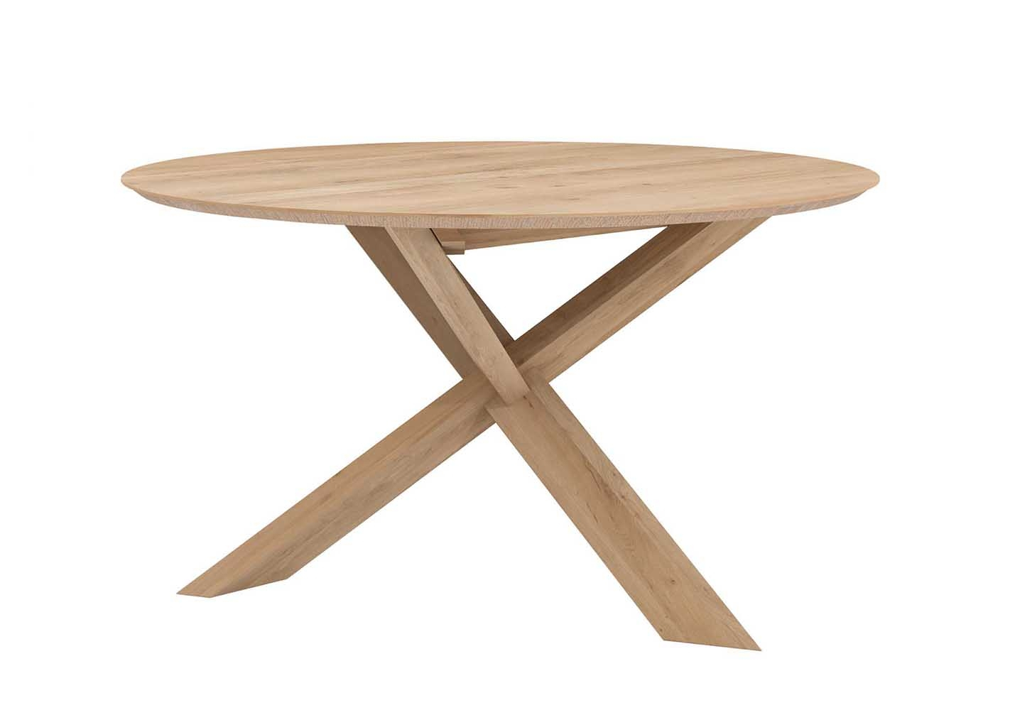 Table ronde Circle en chene - ETHNICRAFT