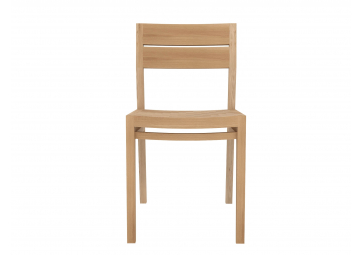 Chaise Ex 1 en chêne - ETHNICRAFT