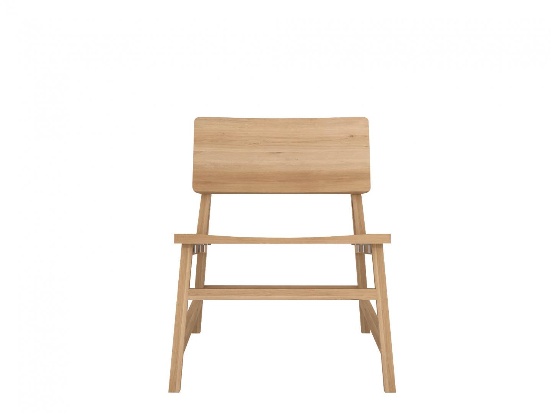 Chaise Lounge N2 en chêne design - ETHNICRAFT