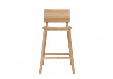 Chaise haute N3 en chêne - ETHNICRAFT