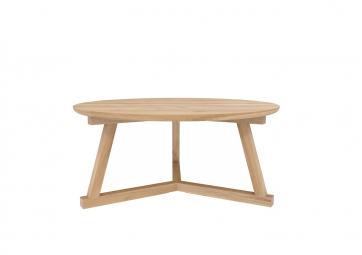 Table basse Tripode en chene - ETHNICRAFT