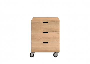 Caisson de bureau Billy en chene - ETHNICRAFT