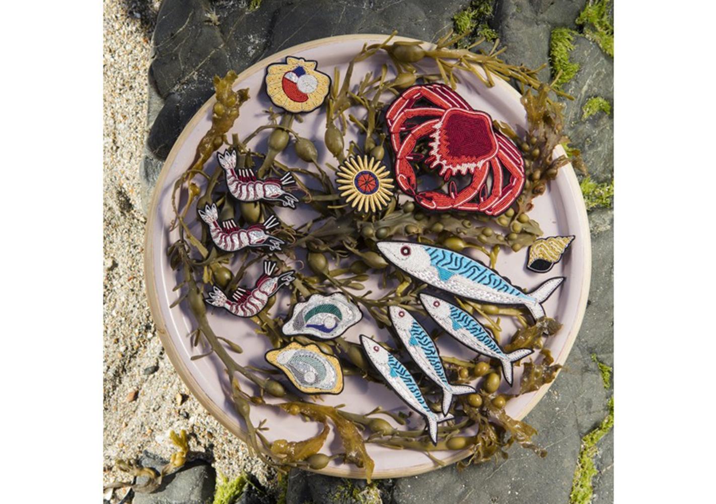 Broche Araignée de mer - MACON & LESQUOY