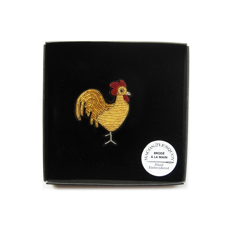 "Broche ""Coq or"" - MACON & LESQUOY"