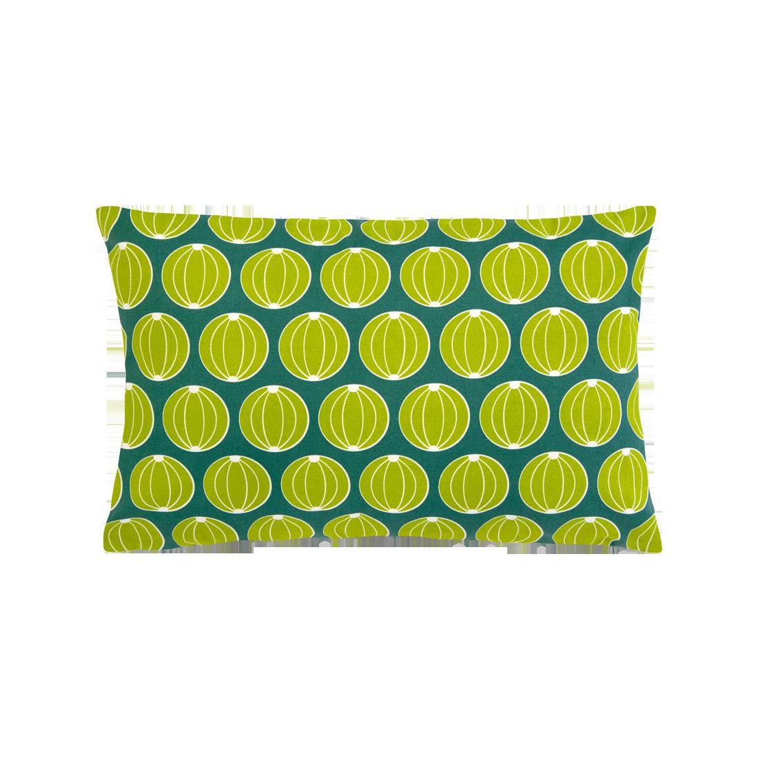 Coussin Melons 68x44 vert jade - FERMOB