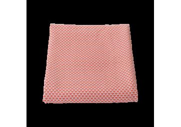 Plaid Pastèques 130x170 coloris capucine - FERMOB