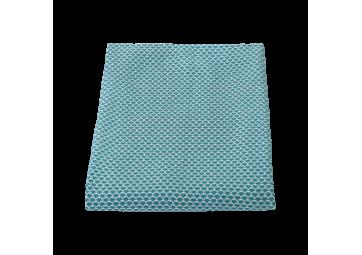 Plaid Pastèques 130x170 coloris bleu turquoise - FERMOB
