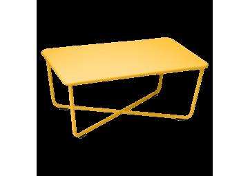 Table basse Croisette miel - FERMOB