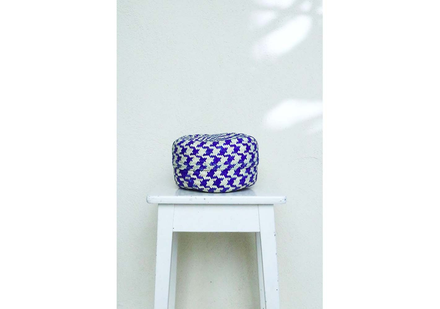 Panier bleu small - P.I. PROJECT