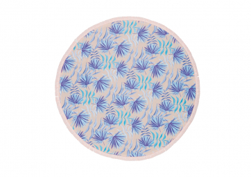Serviette ronde Tropical - BALITOWEL