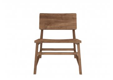 Chaise Lounge N2 en chene - ETHNICRAFT