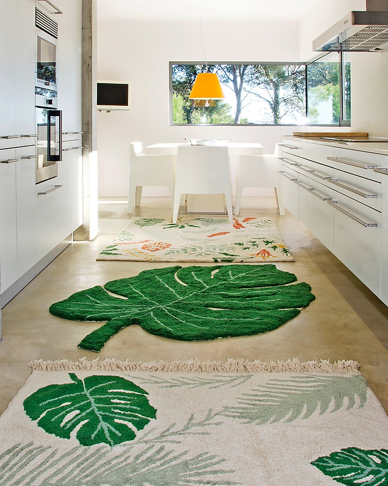 Tapis Feuille De Monstera By Lorena Canals