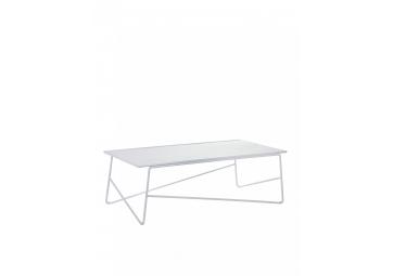 Table basse d'exterieur blanche en aluminium Paola Navone - SERAX