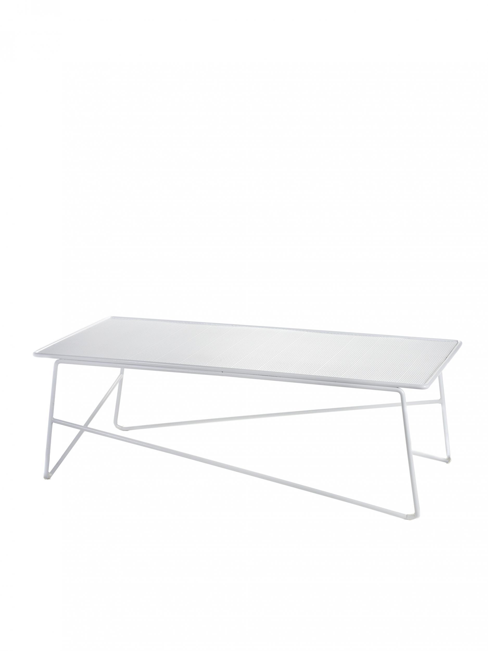Table Basse Blanche Exterieur