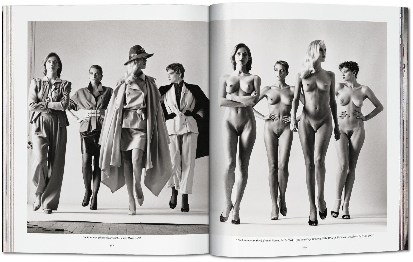 Helmut Newton work - TASCHEN