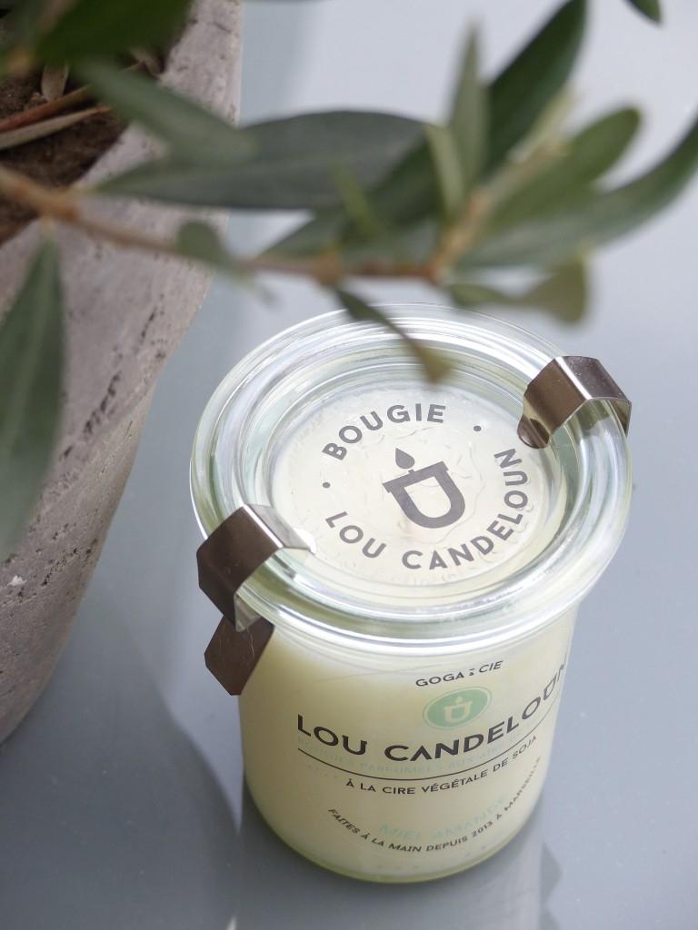 Bougie verveine gingembre - LOU CANDELOUN
