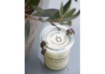 Bougie miel amande - LOU CANDELOUN