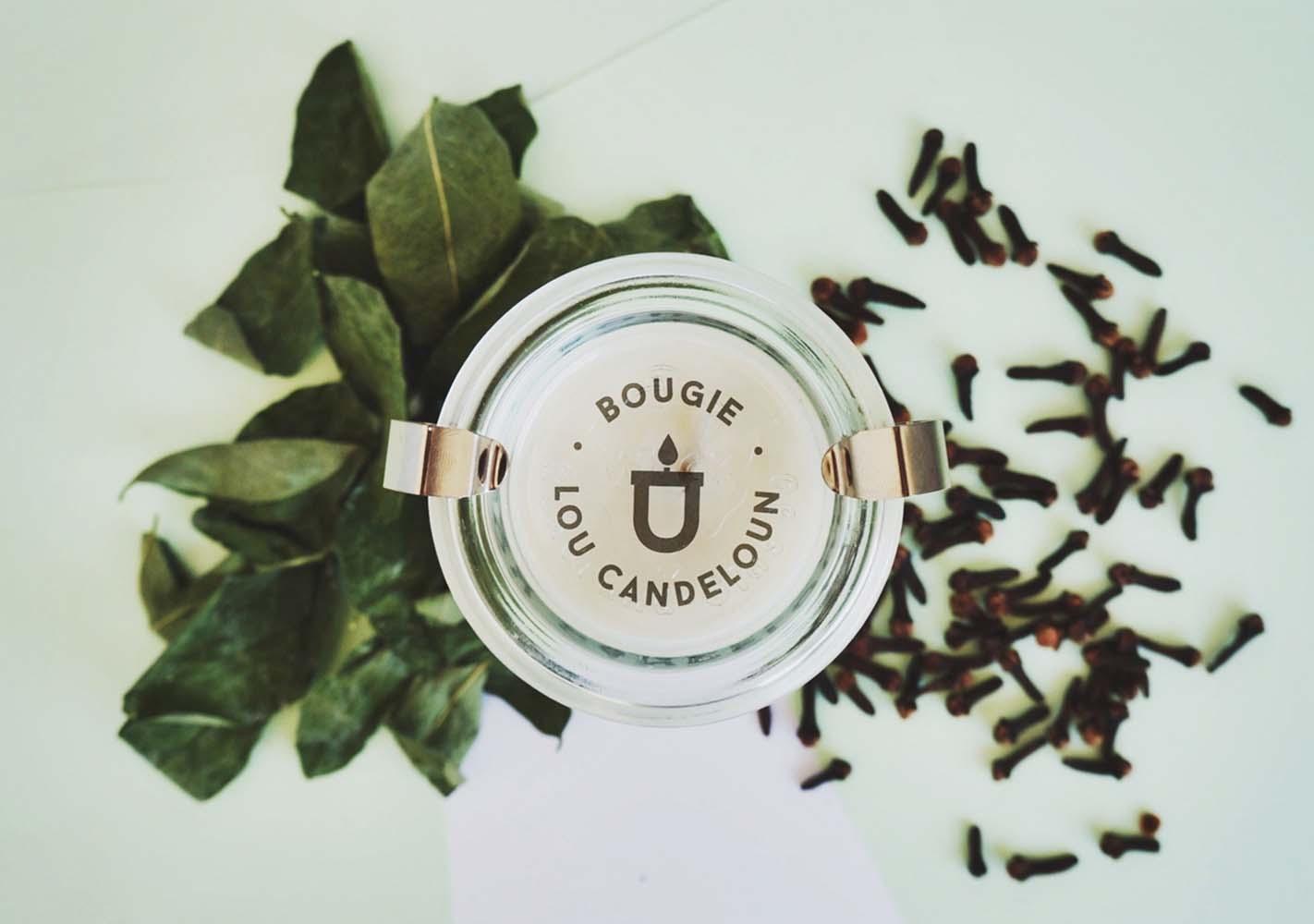 Bougie Sauge et girofle - LOU CANDELOUN