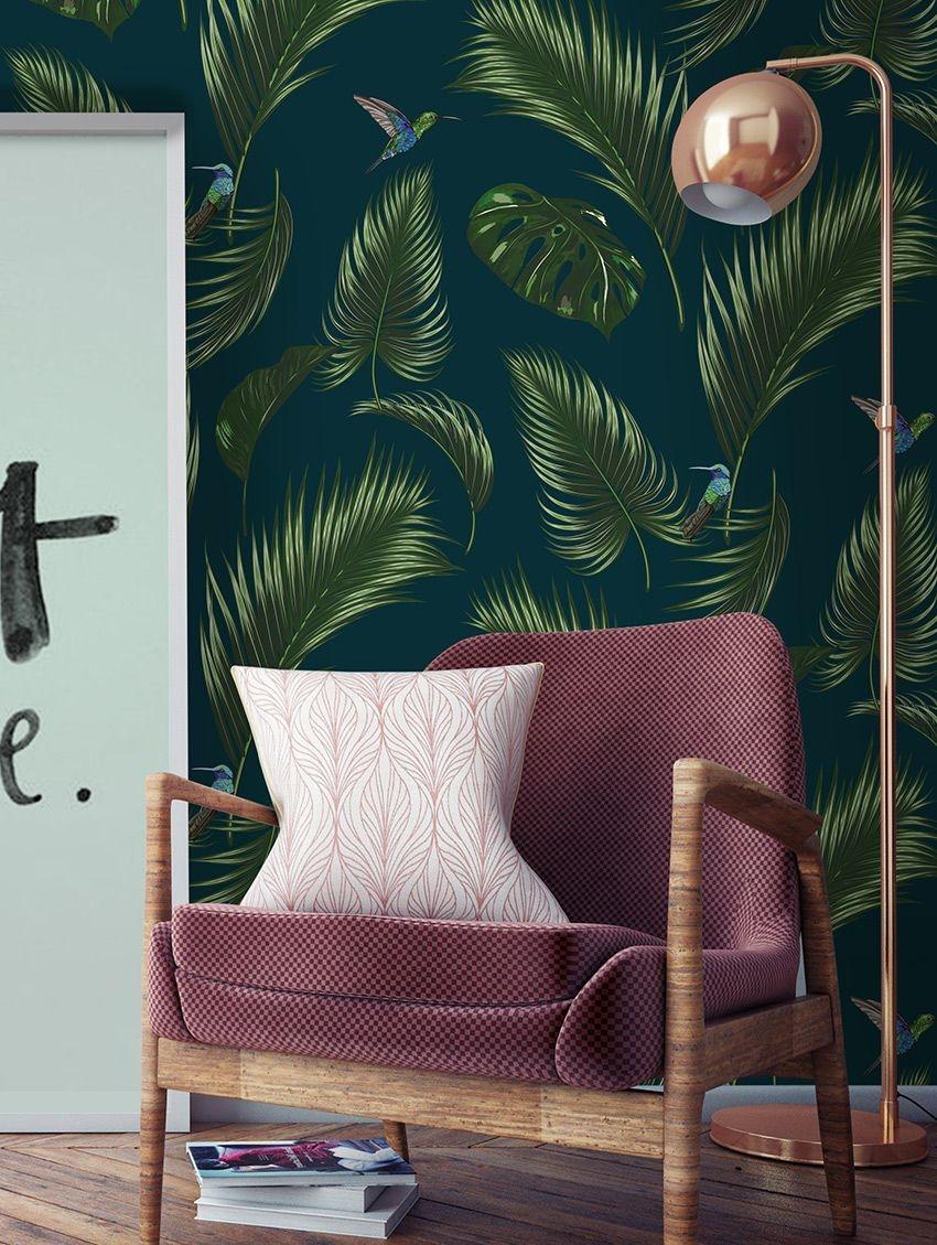 papier peint jungle by papermint. Black Bedroom Furniture Sets. Home Design Ideas
