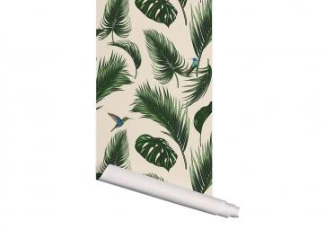 Papier Peint Jungle Sable - PAPERMINT